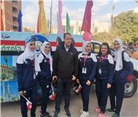 جامعة أسيوط تشارك في أسبوع شباب الجامعاتالمصرية المنعقد بالفيوم