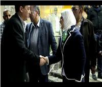 وزيرة الصحة تراجع إجراءات الوقاية من الكورونا مع مسئولي الحجر الصحي