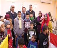 بدء فعاليات فرحتك واجب علينا للأطفال الأيتام في سيناء