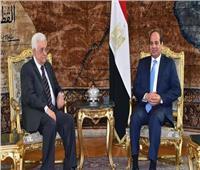 خلال لقائه بالرئيس السيسي.. «عباس» يشيد بدور مصر التاريخي في دعم القضية الفلسطينية