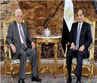 السيسي يؤكد لعباس موقف مصر الثابت بدعم الشرعية الفلسطينية