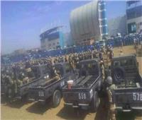 صور| «الجوهرة الزرقاء» تتحول لثكنة عسكرية استعدادا لمباراة الهلال والأهلي