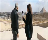 إنشاء ممشى من المتحف الكبير للأهرامات بطول 2 كيلو متر