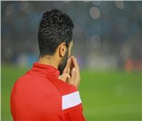اللحظات الأخيرة قبل انطلاق مباراة الهلال والأهلي