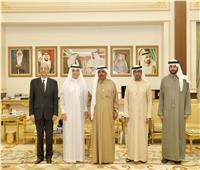 «المالك» وحمدان بن راشد يبحثان تطوير جائزة الشيخ حمدان