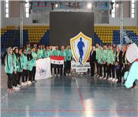 500 طالب يشاركون في الملتقى الرياضي الأول للوافدين بالجامعات