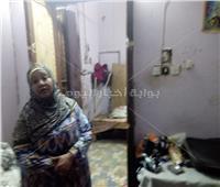 صور| مأساة عجوز بطهطا.. منزلها مهدد بالانهيار بسببتنقيب الآثار