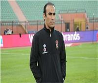 موسيماني وسيد عبدالحفيظ في مباراة المنتخب الأولمبي