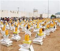 مركز الملك سلمان للإغاثة يوزع 3000 سلة غذائية لمتضرري الفيضانات في الصومال