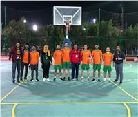 «وافدين المنيا» تنافس في بطولة كرة السلة بـ«قناة السويس»