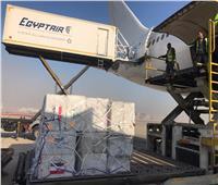 صور وفيديو| الحكومة: 10 أطنان مُستلزمات وقائية هدية تضامن من مصر للصين