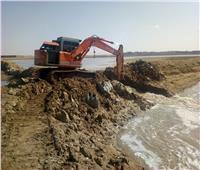 إزالة مزارع سمكية مخالفة على مساحة 117 فدانًا