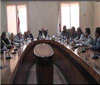 محافظ الوادي: نستكمل إجراءات تنفيذ مشروع مجمع المصالح الحكومية المميكن بالخارجة