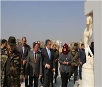 وزير السياحة والآثار يزور قصر البارون لتفقد أعمال التشطيبات