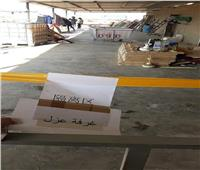 غير مطابقة للمواصفات.. إزالة غرف عزل عشوائية بالمنطقة الصناعية الصينية في السويس