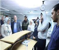 شاهد| مستشفى كامل لاستقبال المصريين المشتبه في إصابتهم بالكورونا