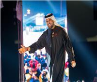 الجسمي يشارك في إفتتاح دورة الألعاب العربية للسيدات بالشارقة