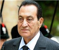 صورة| الرئيس الأسبق حسني مبارك عقب تماثله الشفاء
