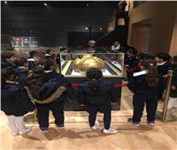 المتحف القومي للحضارة المصرية يستقبل طلاب مدرستين بالقاهرة