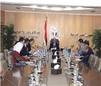 وزير العدل يبحث مع ممثلى مجموعة البنك الدولى تعزيز التعاون المشترك