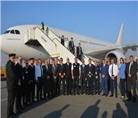 تعرف على جنود الطيران المدني في رحلة عودة المصريين من «ووهان»