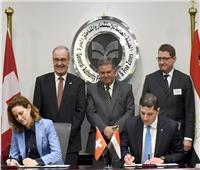 صور| توقيع 3 اتفاقيات فى ختام منتدى الاستثمار المصري السويسري
