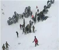 ارتفاع حصيلة قتلى الانهيار الثلجي شرقي تركيا لـ23 شخصا