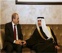 وزير الخارجية الكويتي يستقبل نظيره الأردني