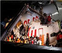 صور| الإعلان عن سبب انشطار طائرة مدنية في اسطنبول