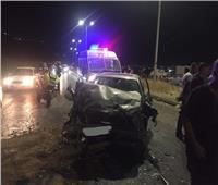 إصابة 6 أشخاص فى حادث تصادم ببنها