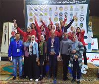 ننشر حصاد جامعة حلوان في ختام الملتقى الرياضي الأول للطلاب الوافدين
