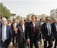 صور.. تفاصيل جولة وزير التعليم العالي بمستشفيات جامعة طنطا