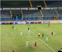 الشوط الأول| التعادل السلبي يسيطر على مباراة بيراميدز والأهلي