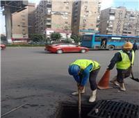 حي شرق مدينة نصر يشن حملة لإصلاح جميع المجالات الخدمية