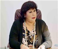 وزيرة الثقافة ورئيس الأوبرا ينعيان شريف الفايد