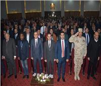 صور| محافظ الغربية يكرم أسر «صلاح» و«النني» و«المحمدي»