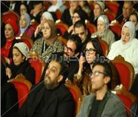 حميد الشاعري ومحمد محي وحنان مطاوع في حفل «ليلة حب»