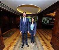صور| وزيرة التعاون الدولى: نتطلع لتنمية العلاقات الاقتصادية مع الأردن