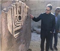 وزير السياحة والآثار يتفقد أعمال مشروع الهوية البصرية بمعابد الأقصر والكرنك