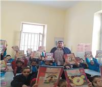 توزيع الكتب والاهتمام بالنظافة بمدارس «الفترتين» بالإسكندرية