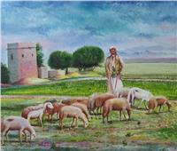 ٤٤ لوحة تشكيلية بمعرض «تراث اليمن» بالهناجر