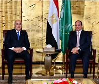 السيسي لـ«تبون»: مصر داعمة للجزائر في مواجهة الإرهاب
