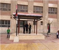 بالصور.. انتظام والتزام في أول يوم دراسي بمدارس القاهرة