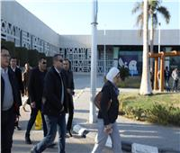 وزيرة الصحة تراجع الإجراءات الوقائية بالحجر الصحي في مطار الأقصر