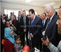 وزير التعليم العالي يتفقد مستشفى برج العرب الجامعي لعلاج أورام الأطفال