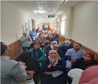 مستشفيات جامعة حلوان ترفع حالة الاستعداد للوقاية من «كورونا»
