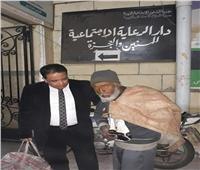 التدخل السريع بالتضامن ينقذ مسن بلا مأوى في إطار مبادرة حياة كريمة