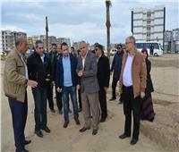 بالصور| نائب وزير الإسكان يتفقد مشروعات مدينتي المنصورة ودمياط الجديدتين