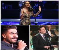 أنغام وهاني شاكر وخالد سليم يحتفلون بـ«الفلانتين» في القاهرة والإسكندرية