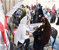 وزيرة الصحة: قافلة تضم 17 عيادة متنقلة وصيدلية متكاملة لعزبة الهجانة